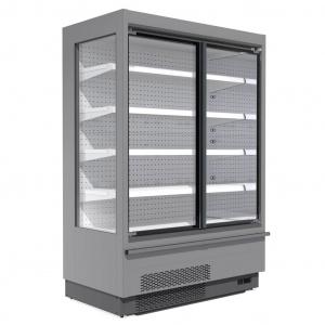 Горки холодильні з дверима